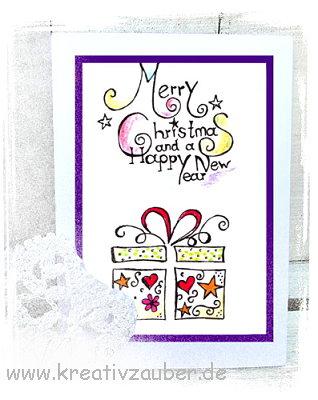 weihnachtsstempel weihnachtskarte basteln