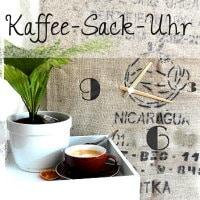 kaffeesack-uhr