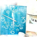 Le Bain – Design-Uhr