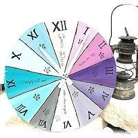 3 verschiedene runde Uhren