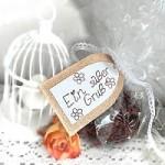 Leckere Schoko-Kekse mit Verpackungsidee
