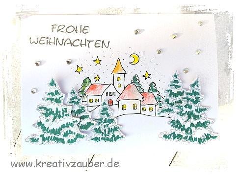 weihnachtsstempel motivstempel