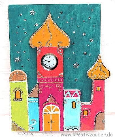 Uhr orient style tausend und eine nacht - Dekoration orientalisch ...