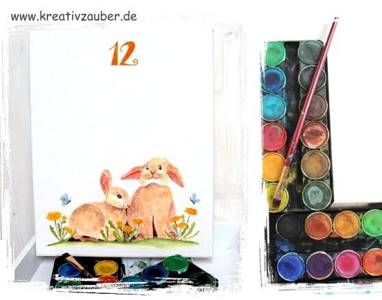 keilrahmen-aquarell-uhr