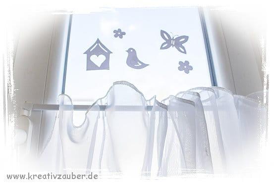 fensterdeko fr hling in wei. Black Bedroom Furniture Sets. Home Design Ideas
