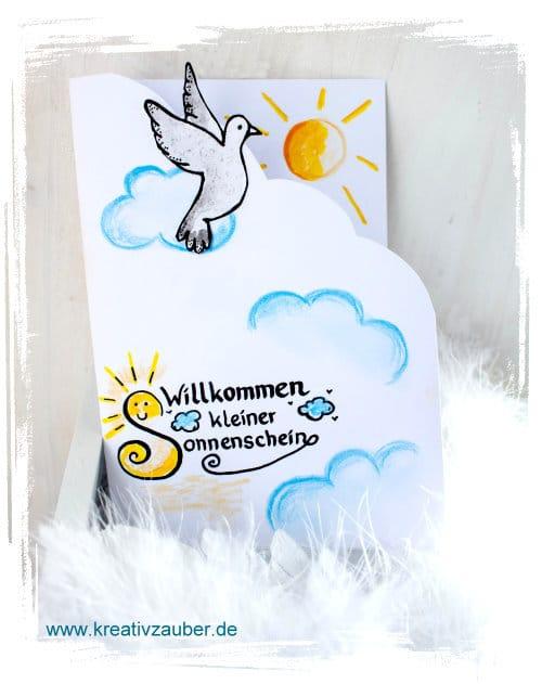 Gluckwunschkarten Basteln Geburt Grundschule