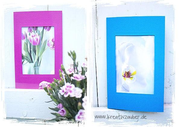 Fotos auf Postkarten