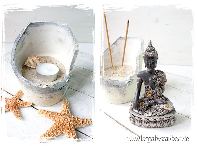 tontopf diy buddha kreativzauber