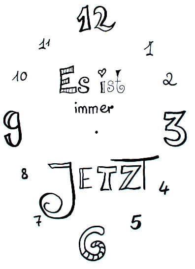 lettering-uhr-fineliner