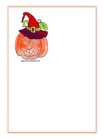 briefpapier gratis ausdrucken halloween