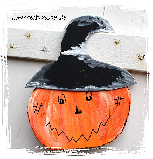 kürbis basteln bastelvorlage halloween