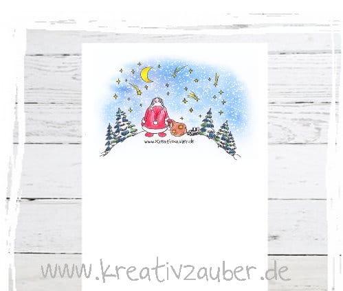 Gratis Briefpapier Für Winter Und Weihnachten