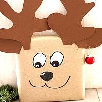 Geschenkverpackung Elch