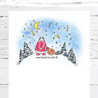 Gratis Briefpapier Winter & Weihnachten