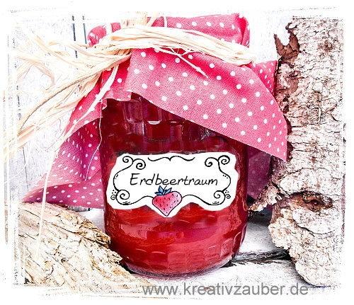 erdbeer-etikett