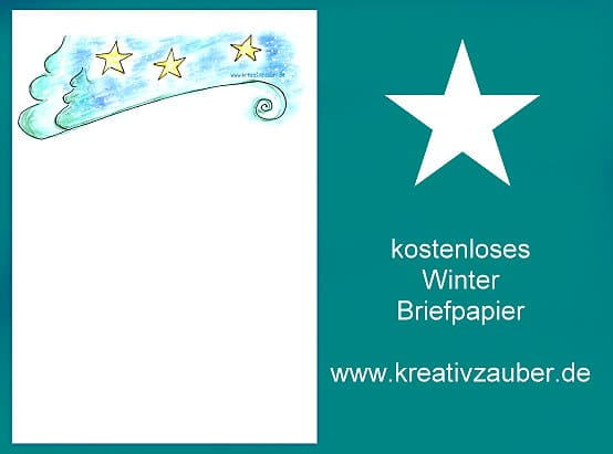 briefpapier-winter-gratis-vorlage