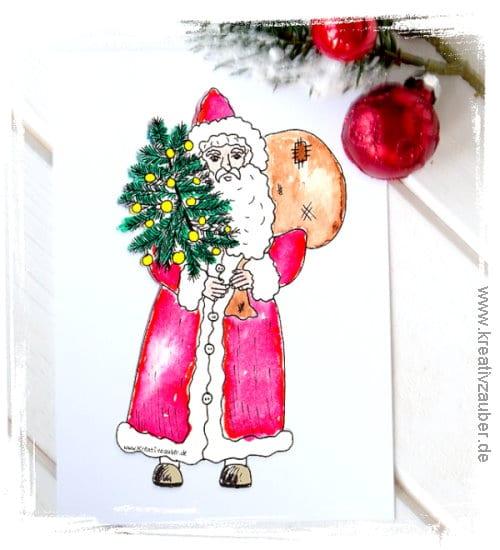Weihnachtskarten kostenlos ausdrucken kreativzauber for Weihnachtskarten kostenlos