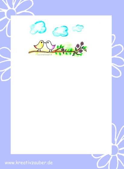 briefpapier kinder kostenlos ausdrucken