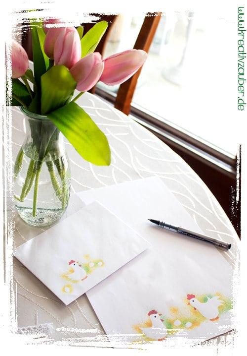 briefpapier ostern kostenlos