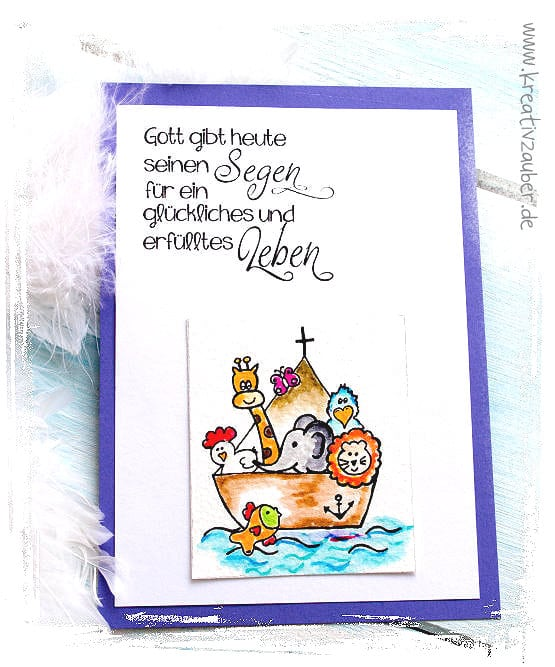 Taufkarte basteln ☆ viele Ideen und Anleitungen ☆ Kreativzauber®