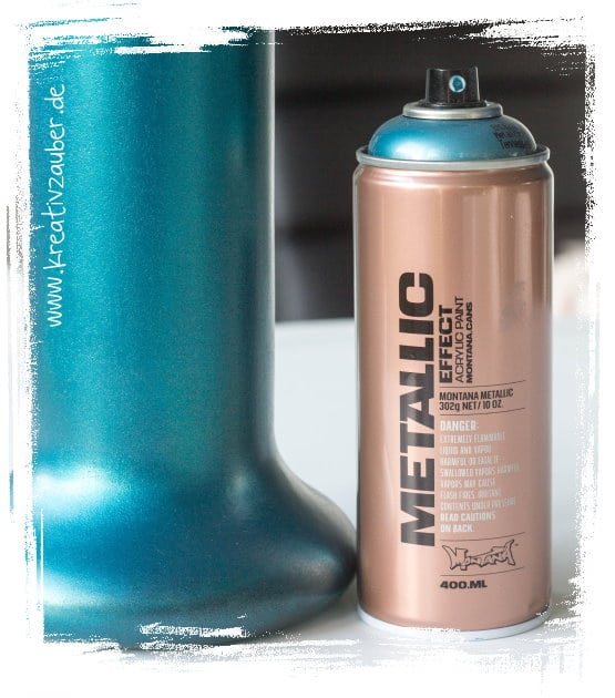 Metallic Farbe basteln