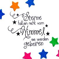 Sterne fallen nicht vom Himmel