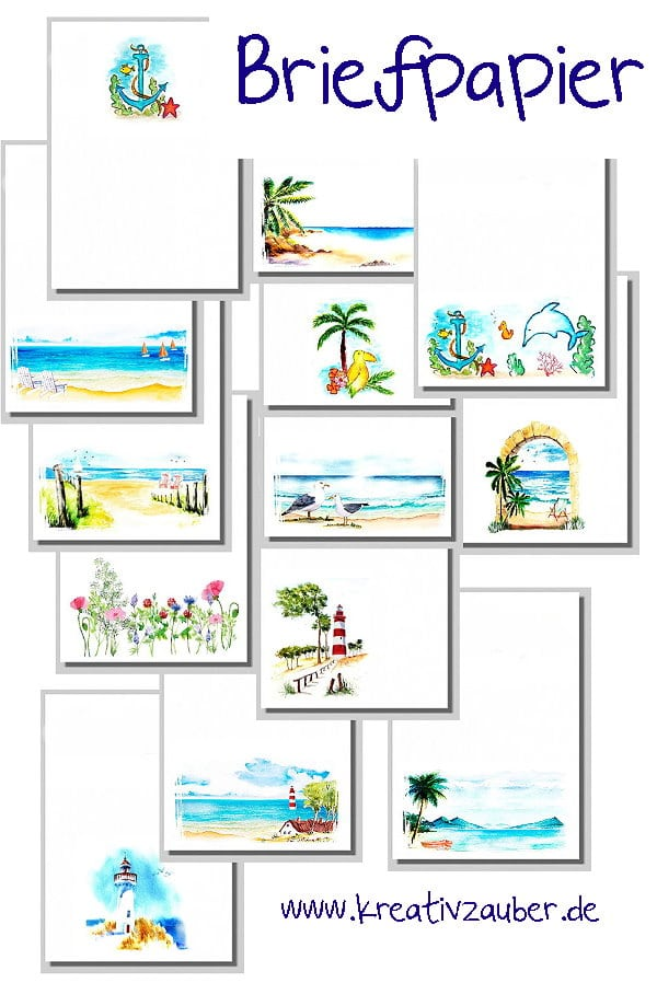 briefpapier-neuheiten-sommer-urlaub ⋆ Kreativzauber® ☆ Bastelblog ...