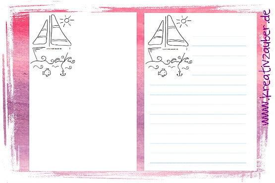 Briefpapier für Kinder kostenlos zum Ausdrucken - Kreativzauber®