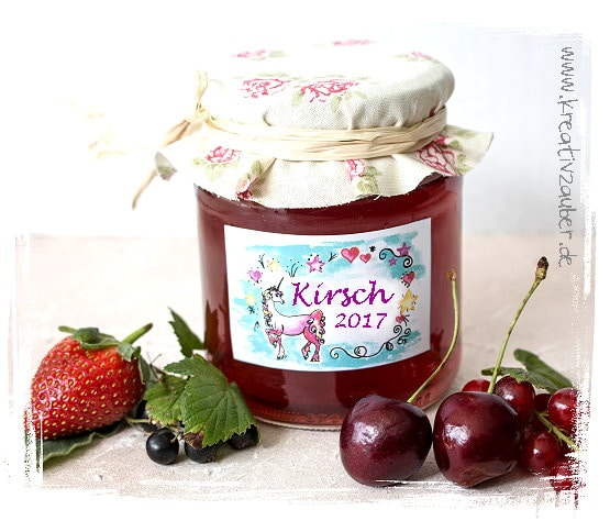 Marmeladen Etiketten gratis