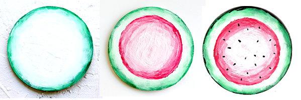 Melone malen