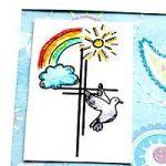 Regenbogen – Kreuz