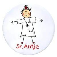 Namensschild Krankenschwester / Arzt / Hebamme