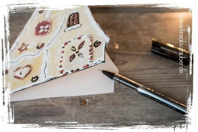 weihnachtskarte schreiben