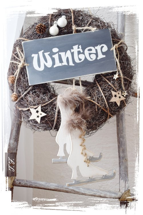 Winter Deko selber machen