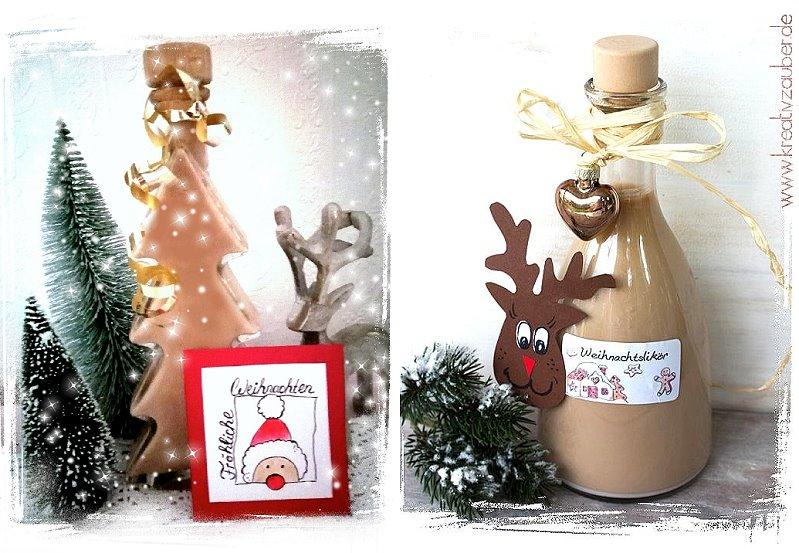 Weihachtsgeschenk Weihnachtslikör
