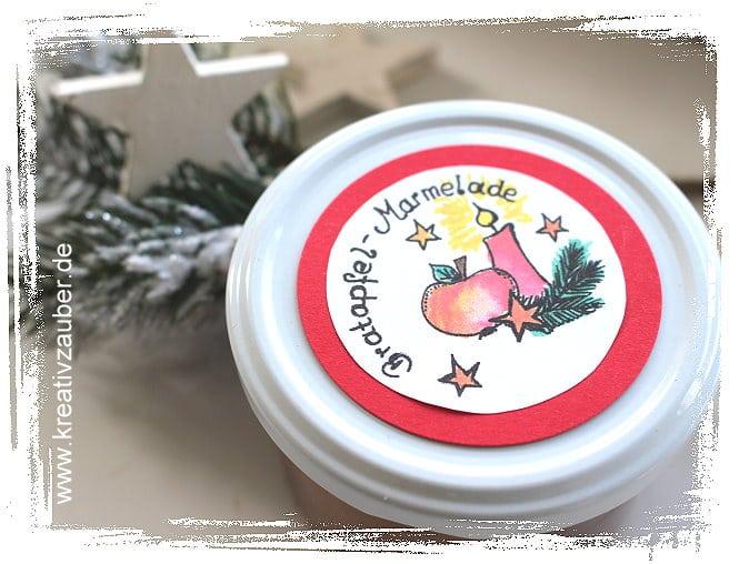 Weihnachtsmarmelade Bratapfel Marmelade