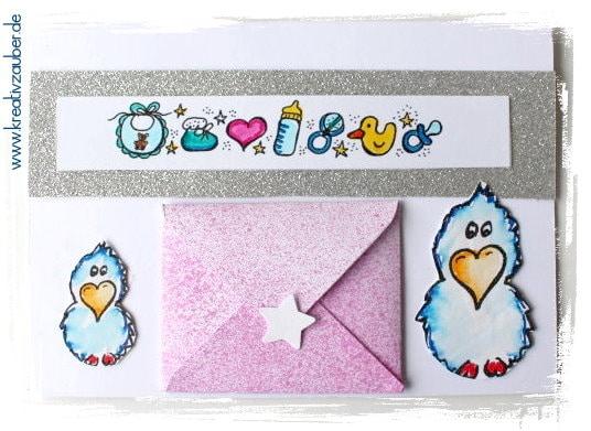 Babykarte Gutschein