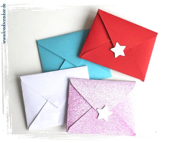 Mini Kuverts basteln