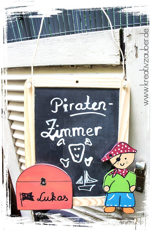 Piratenbasteln Pirat basteln