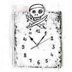 Piraten Uhr basteln