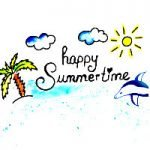 Briefpapier für den Sommer kostenlos ausdrucken