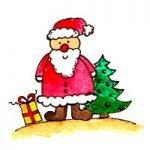 Weihnachtsetiketten ausdrucken
