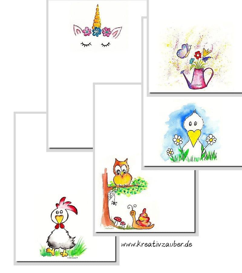 Neuheiten Briefpapier Ostern Frühling - wunderschöne Motivpapiere im Shop