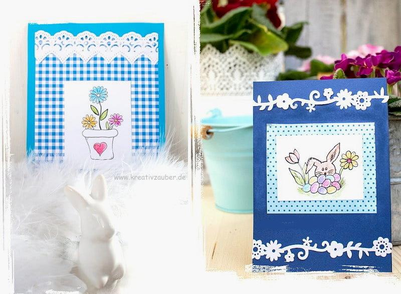 Kartenbasteln zu Ostern