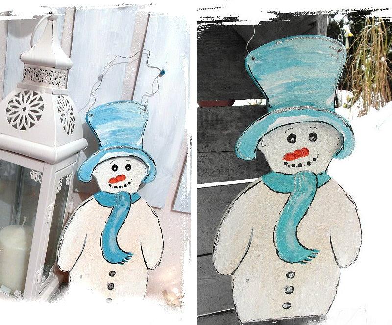 bastelideen weihnachten und winter