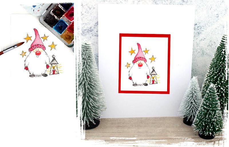 Karten basteln zu Weihnachten
